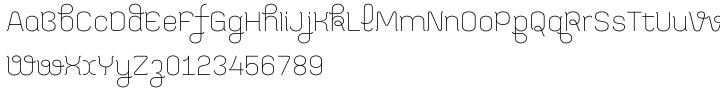Bayadera 4F™ Font Sample