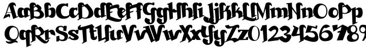 Beckasin™ Font Sample