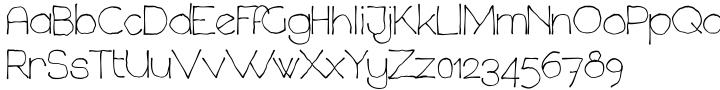 Chavenir™ Font Sample