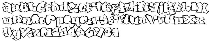 Ghang™ Font Sample