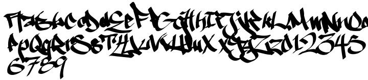 Ruthless Wrecking™ Font Sample