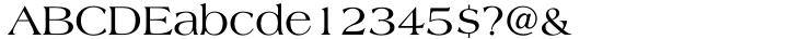 Americana® Font Sample