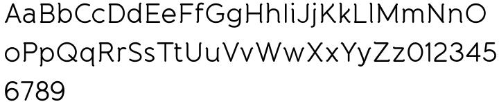 Banda Font Sample