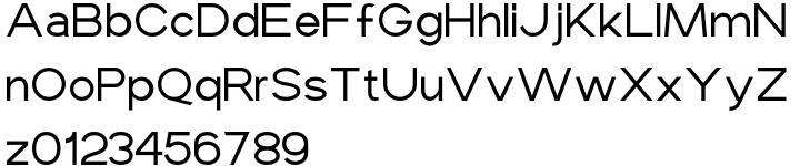 Maxine Sans™ Font Sample