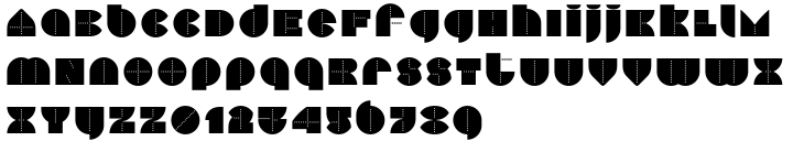Perfopunto 4F™ Font Sample