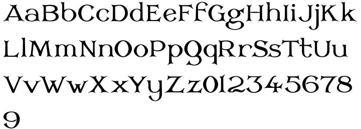 Corsham™ Font Sample