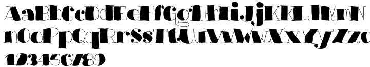 Barkants Font Sample