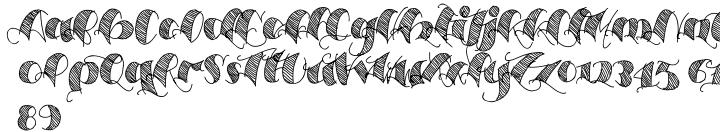 Espesor Olas Font Sample