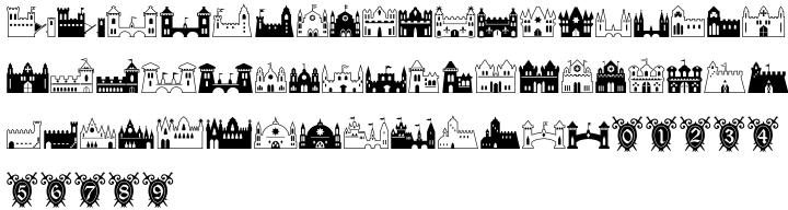 Fontazia Chateaux™ Font Sample