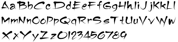 Tamika™ Font Sample