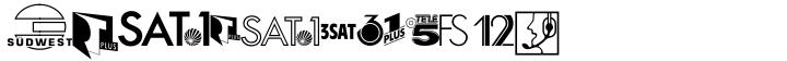 Audio Pi Font Sample