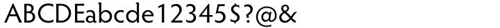 Hypatia Sans Pro® Font Sample
