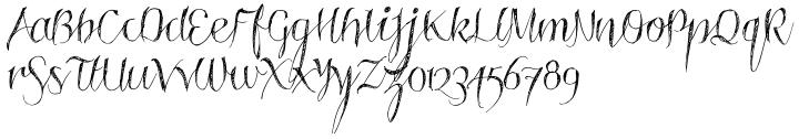 Roskrift Font Sample