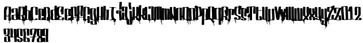 Servin For Salute Font Sample