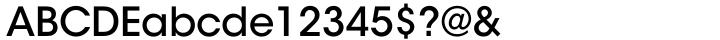 ITC Avant Garde Gothic™ Font Sample