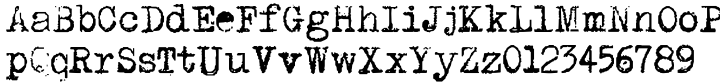 P.I. Font Sample