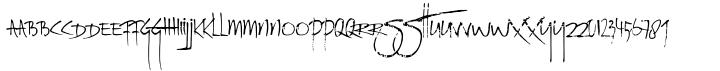 Rat Infested Mailbox Font Sample