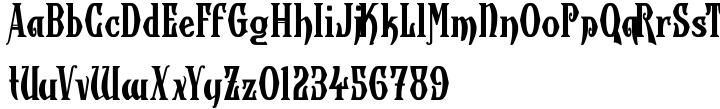 Wolverhampton Font Sample