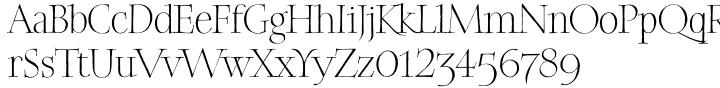 Elisabeth™ Font Sample