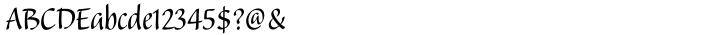Balzano® Font Sample