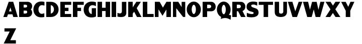 Bushwick JNL Font Sample