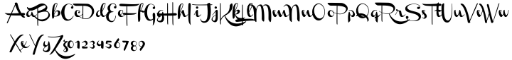 Channel™ Font Sample