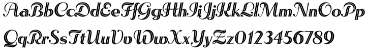 Rhythm™ Font Sample