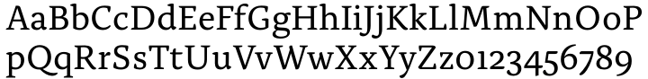 Alda™ Font Sample