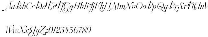 Orlando Samuels Pro™ Font Sample