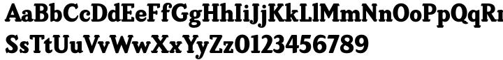 Brunswick Black Font Sample