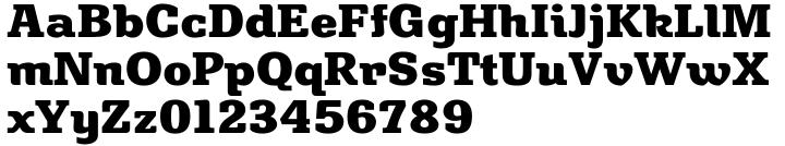Bulwark Font Sample
