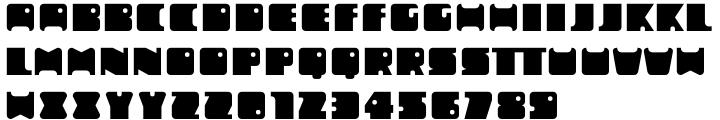 Mobie FA Font Sample