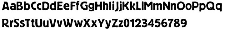 Niedermann Grotesk™ Font Sample