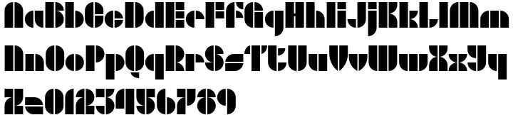 Concreta Font Sample