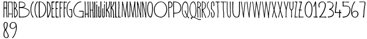 Spiderlegs Font Sample