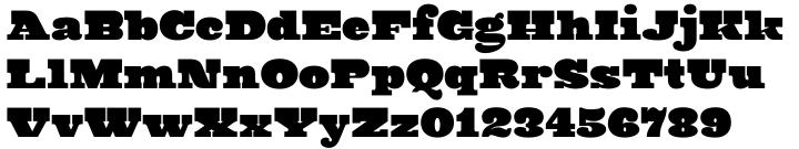Ringa Font Sample