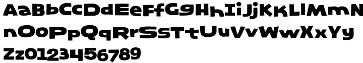 Marilyn Font Sample