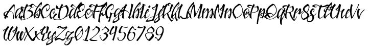 Jacked Eleven Font Sample