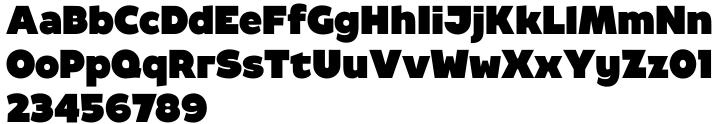 Berfa™ Font Sample