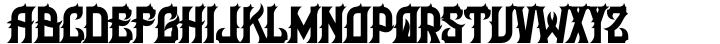 H74 Her Majesty Font Sample