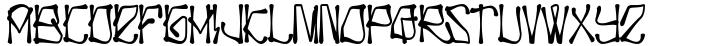 H74 Dishonor Font Sample