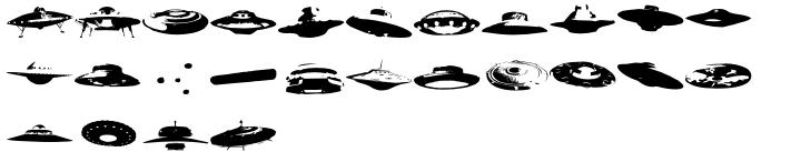 Ovnis Font Sample