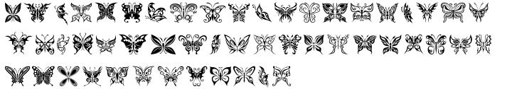 Fontazia Motyl™ Font Sample