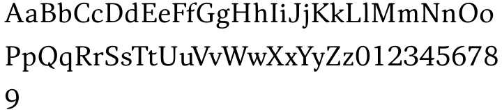 Narevik Font Sample