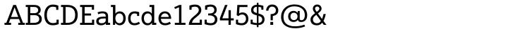 Justus Pro™ Font Sample
