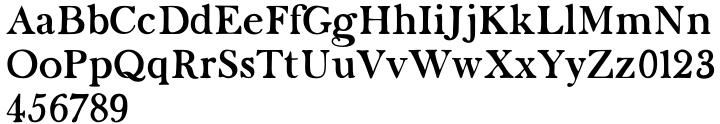 Karty Solid Font Sample