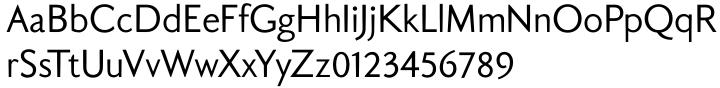 Aragon Sans Font Sample