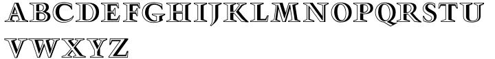 Gmuender Gravur™ Font Sample