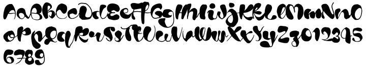 Blods™ Font Sample