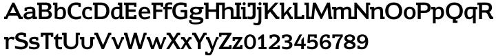 Contra Slab Font Sample